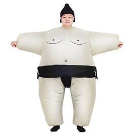 Sumo Suit Inflatable Wrestler Costume