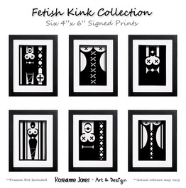 Fetish Kink Collection Signed Prints Roseanne Jones