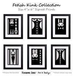 Fetish Kink Collection Signed Prints Roseanne Jones