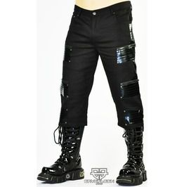 Cryoflesh Paragon 3/4 Gothic Cyber Pants