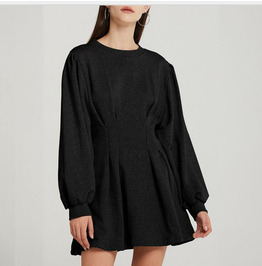 Autumn / Winter New Pullover Sweater Dress Women's Clothing