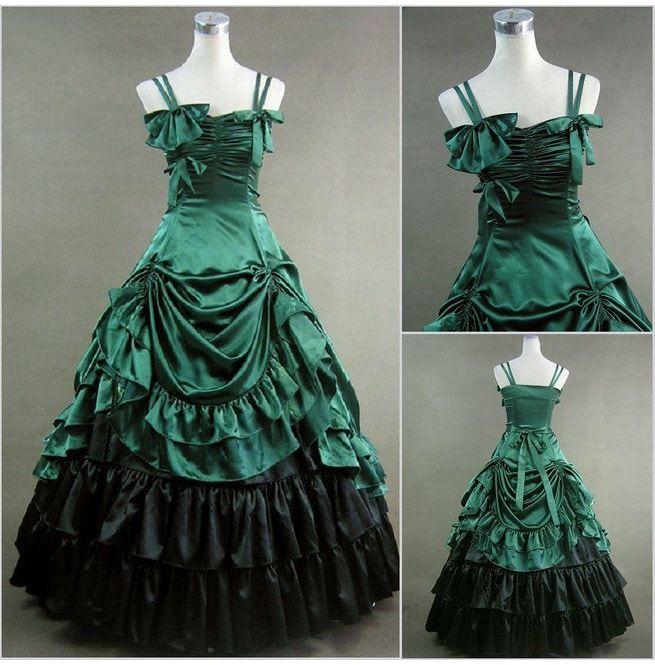 Used Plus Size Ball Gowns: Allison`s Vintage Retro Renaissance Medieval Royal Ball