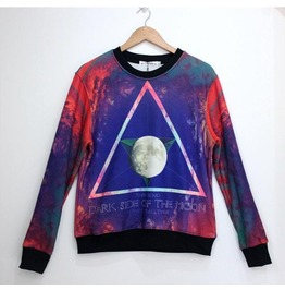 Galaxy Style Triangle Pattern Fashion Hoodie