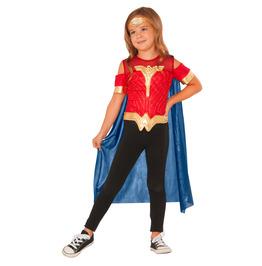 Wonder Woman Shirt With Cape Set