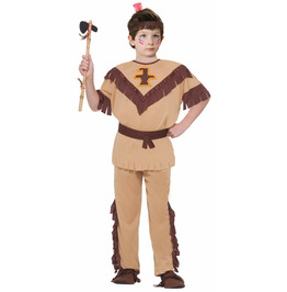 Native American Brave Child Costume MEDIUM