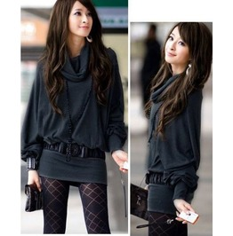 Casual Slim Fitted Long T Shirt