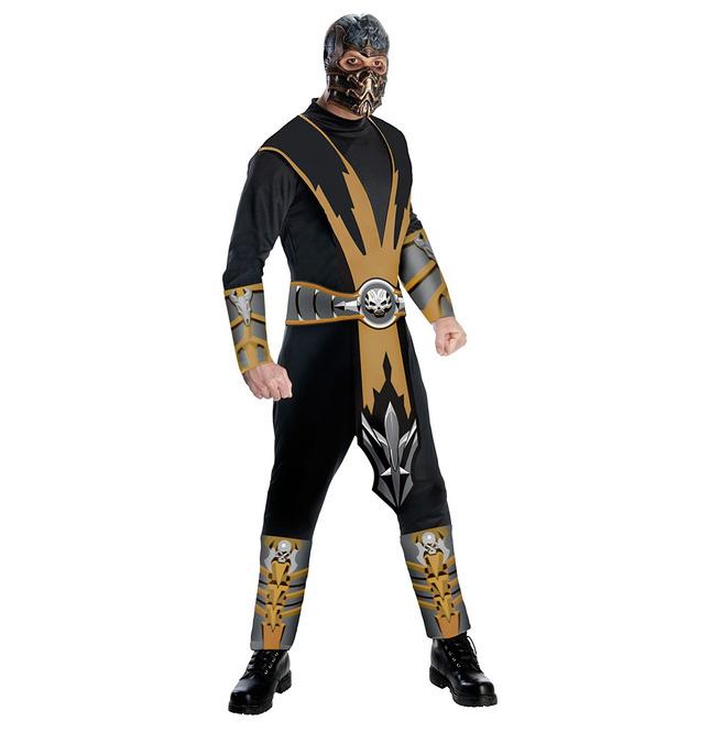 Mortal Kombat - Scorpion- Adult Large   RebelsMarket