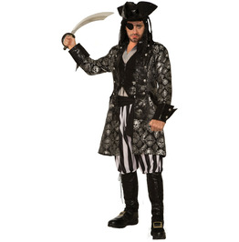 Mens Captain Sterling Blackskull Costume