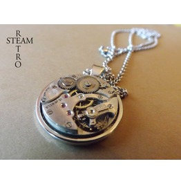 Dreadnought Mens Steampunk Necklace Steamretro