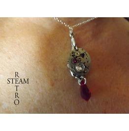 Siam Steampunk Necklace Steampunk Jewelry Steamretro