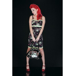 Jawbreaker Zombie Girl Psychobilly Pencil Dress