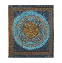 Celtic Knot Print Tapestry