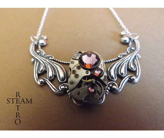 clockwork_pendant_and_antique_rose_swarovski_crystals_necklaces_3.jpg