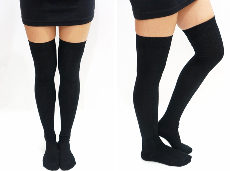 Find great deals on eBay for black thigh high stockings. Shop with confidence.