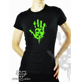 Cryoflesh Contaminated Cyber Goth Industrial Shirt Fem