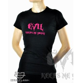 Cryoflesh Evil Keeps Young Cyber Industrial Shirt Fe