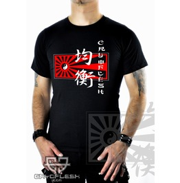 Cryoflesh Balance Ying & Yang Cyber Industrial Shirt Ma