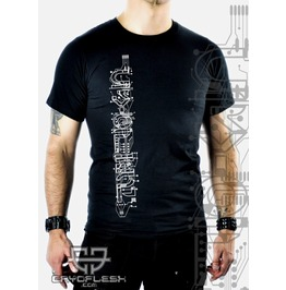 Cryoflesh Circuitry Gothic Cyber Industrial Shirt Male
