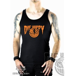 Cryoflesh Die Happy Cyber Industrial Tank Top Shirt Male