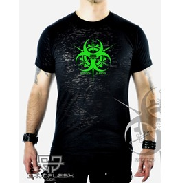 Cryoflesh Infektion Injektion Cyber Burnout Shirt Male
