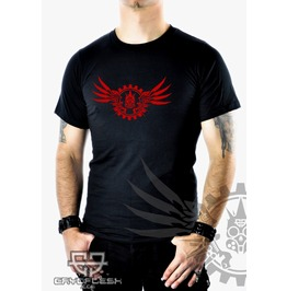 Cryoflesh Mecha Wing Gothic Cyber Industrial Shirt Male