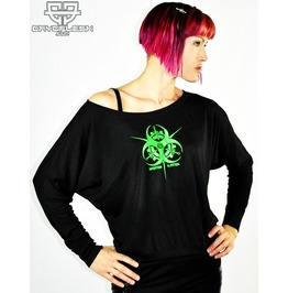 Cryoflesh Infektion Injektion Cyber Goth Relax Fit Shirt