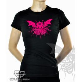 Cryoflesh Cthulhu Cyber Industrial Gothic Shirt Fem