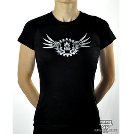 Cryoflesh Mecha Wing Cyber Industrial Gothic Shirt Fem