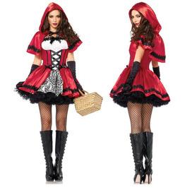 Halloween Women's Cosplay Costume Dress Game Uniform