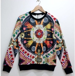 Totem Trible Print Unisex Fashion Sweater