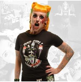 Kreepsville 666 Bad Girl Made Worse T Shirt