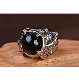 Punk Rock Men Gothic Jewelry Ring