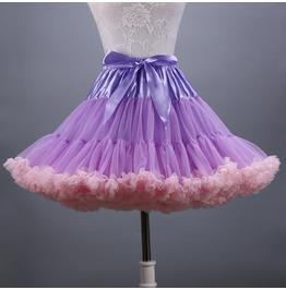Women Goth Petticoat Underskirt