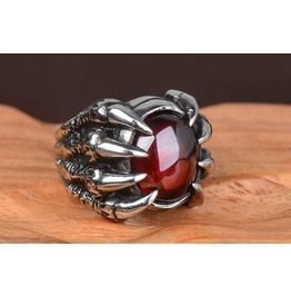 Retro Punk Rock Men Jewelry Ring Christmas Gift