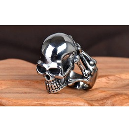 Punk Rock Skull Men Jewelry Ring