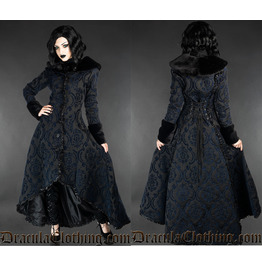Blue Evil Princess - Coat