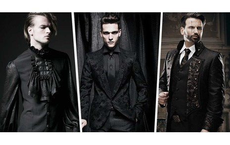 fd5a54e10fac Going to A Black Tie Christmas Party? Add A touch Of Gothic Edge to Your.  Fashion