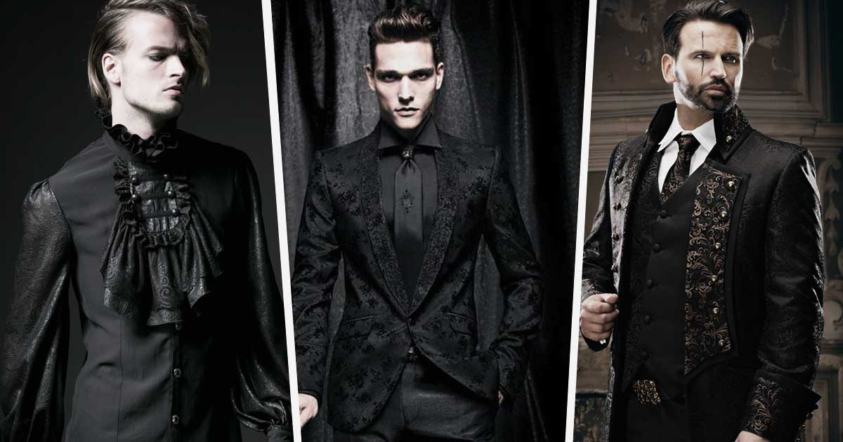 Going to A Black Tie Christmas Party? Add A touch Of Gothic Edge to Your Outfit
