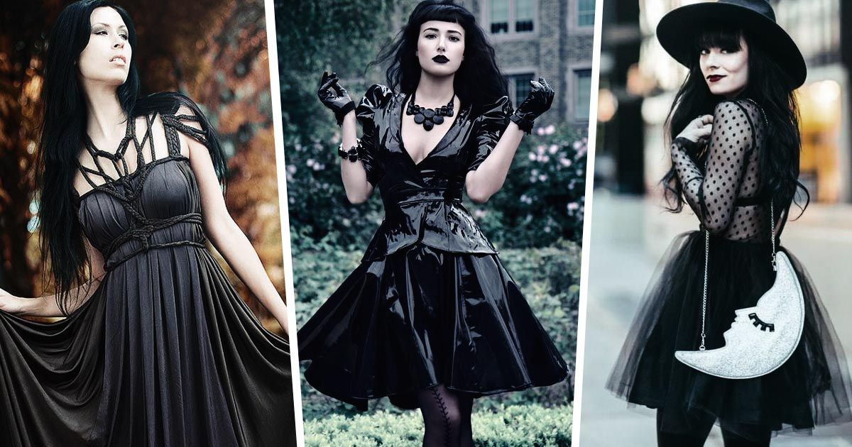 Gothic glitz how to style a gothic outfit for your christmas party