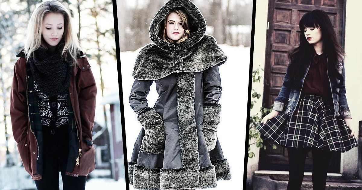 How to stay warm without losing your edgy style