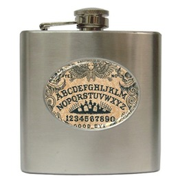 Ouija Board Hip Flask