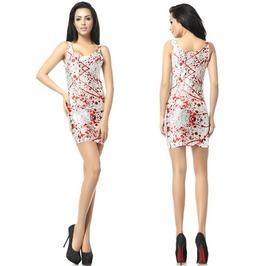 Personalized Pattern Print Women Bodycon Dress