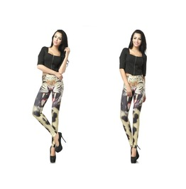 Tiger Print Fashion Women Leggings Pants Christmas
