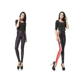 Classic Pattern Print Fashion Women Leggings Pants