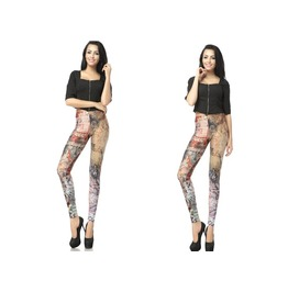 Personalized Pattern Print Women Leggings Pants
