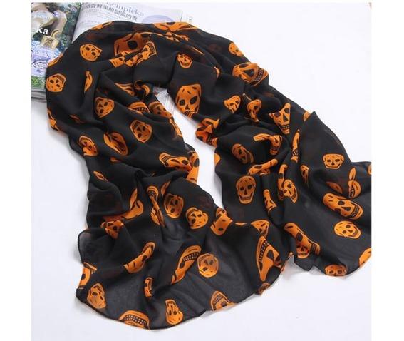 black_orange_chiffon_scarf_with_skull_print_scarves_4.JPG
