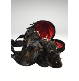 Raven Unisex Armour Skull Shoulder Epaulettes