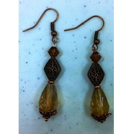 Toapz Drop Bead Earrings
