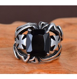 Unique Gothic Steam Punk Ring Jewelry Men