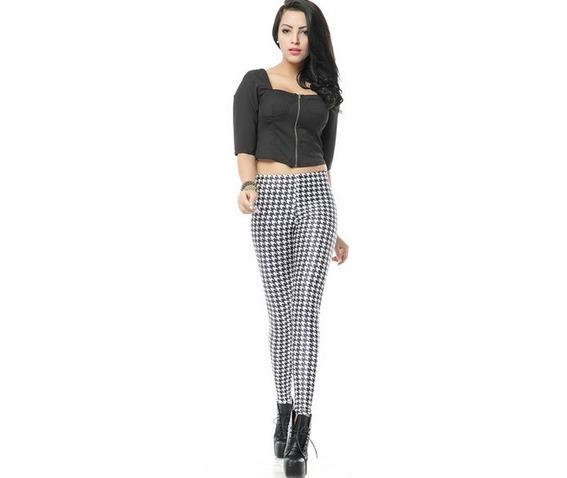 black_white_pattern_print_fashion_women_leggings_pants_leggings_4.jpg